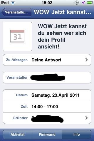 Facebook Wurm